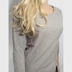 American Eagle Light Taupe Sweater Sz Small